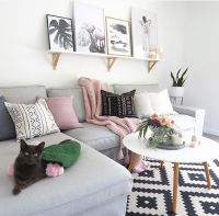 17 Best ideas about Pink Living Rooms on Pinterest