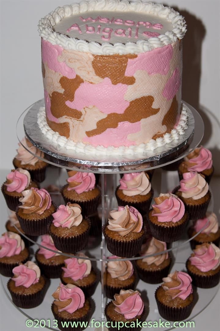 25 Best Ideas About Pink Camo Cupcakes On Pinterest