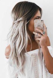 grey ombre hair ideas
