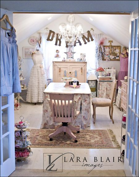 17 Best images about Shabby Chic Office & Desks on