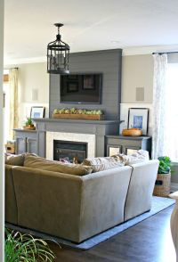 25+ best ideas about Tv over fireplace on Pinterest ...