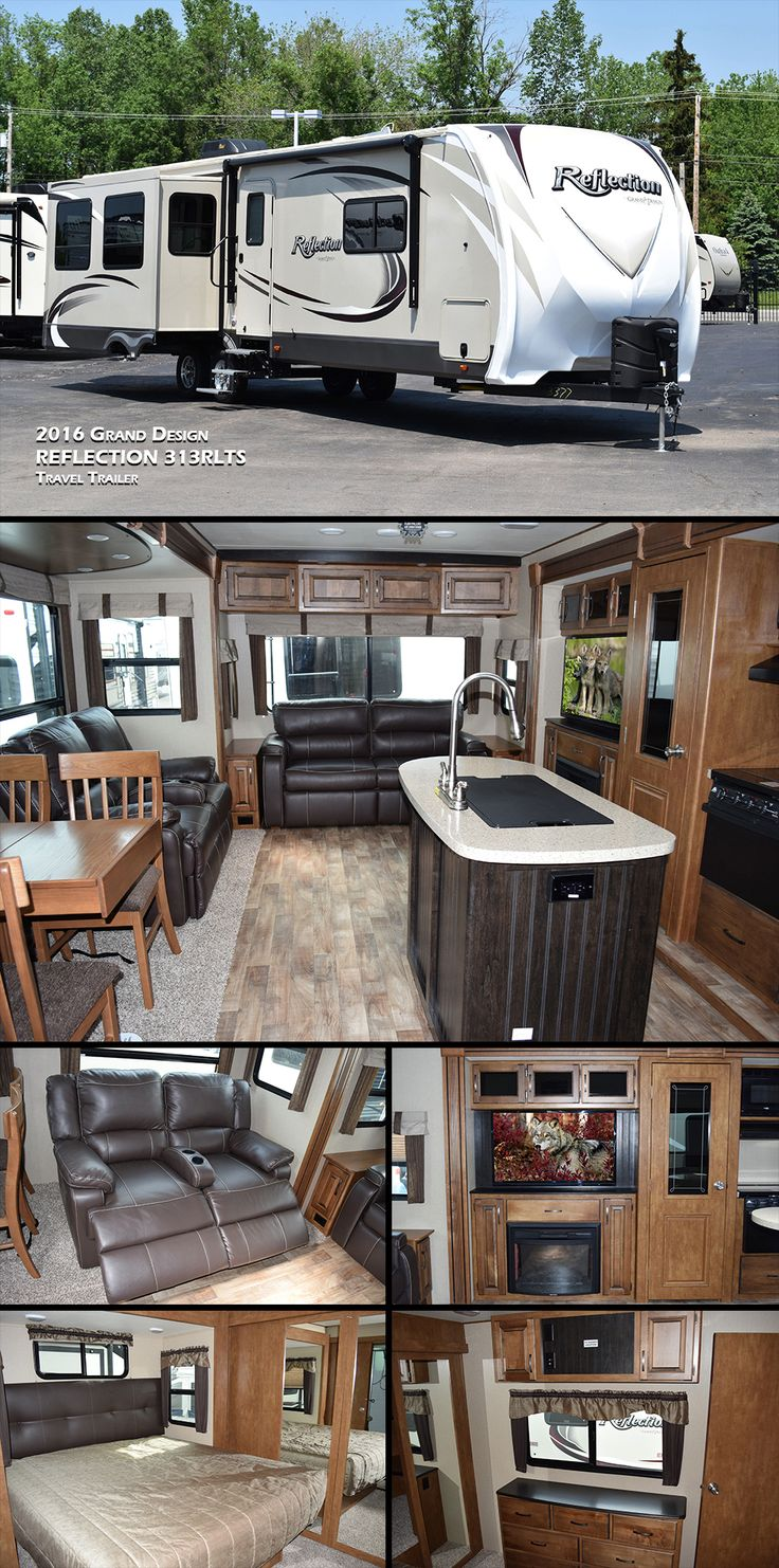 This 2016 Grand Design REFLECTION 313RLTS Travel Trailer
