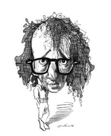 Image result for woody allen caricature