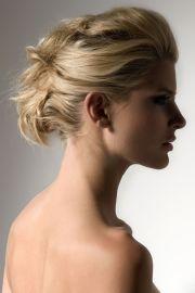piled pinned hair - great