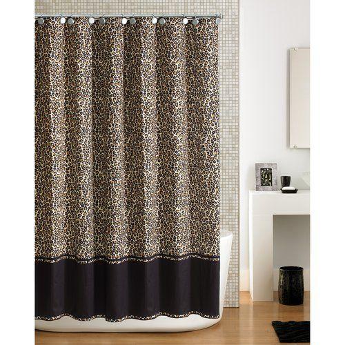 Cheetah Print Shower Curtains