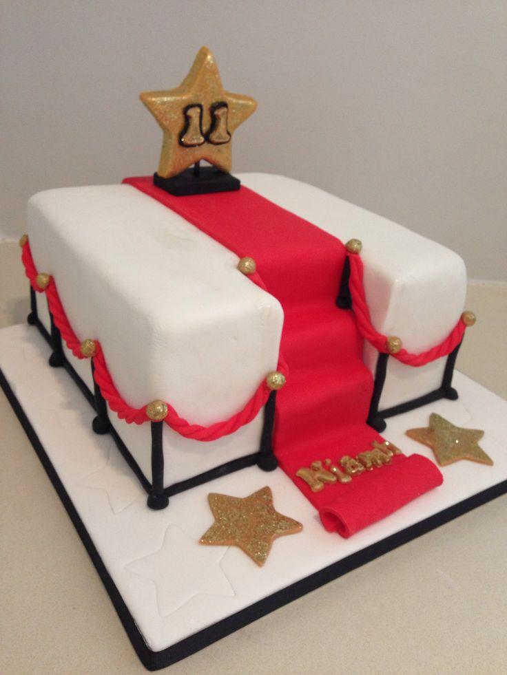 Hollywood Red Carpet Cake Cake Decorating Ideas