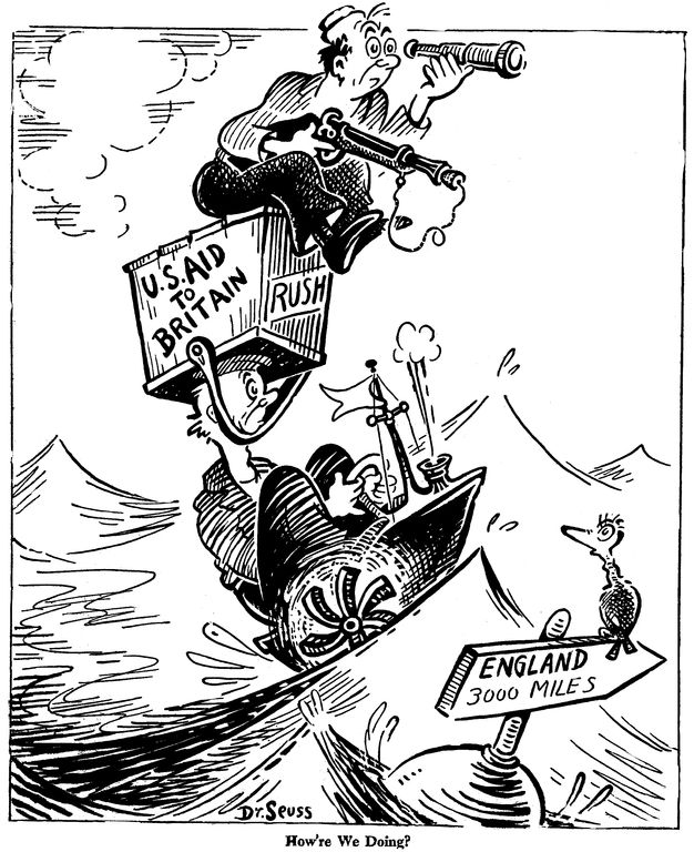 How're we doing?, published by PM Magazine on May 9, 1941