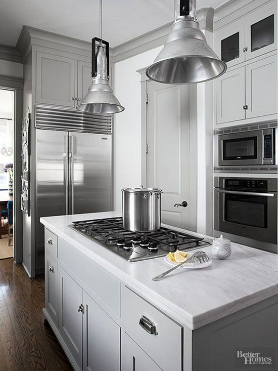 modern kitchen backsplash cabinet refinishing this takes neutral to the next level | cook in ...