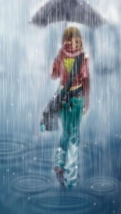 Anime Girl With Umbrellas In Rain Wallpaper 173 Best Images About Anime Girls On Pinterest Anime