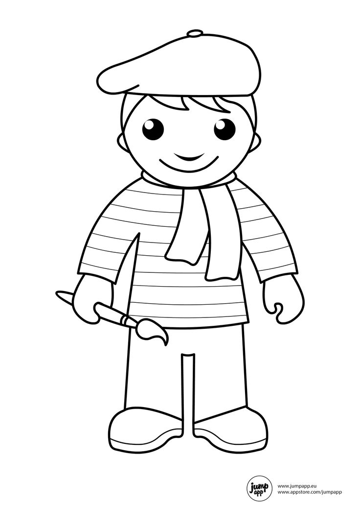 Community Helpers Vehicles Page Coloring Pages