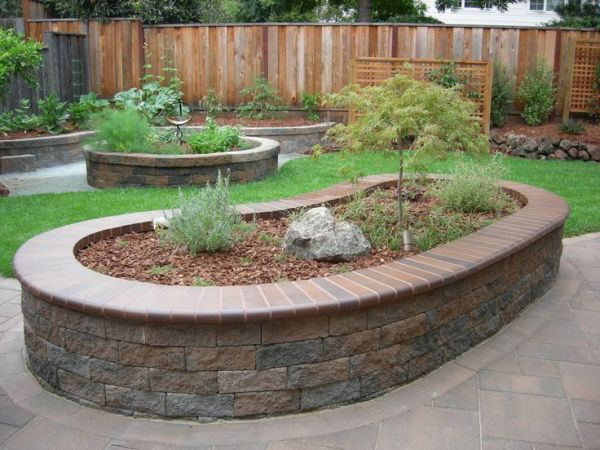25 Paver Flower Bed Landscaping Ideas Pictures And Ideas On Pro