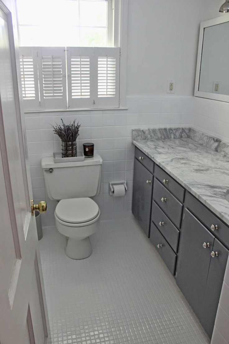 the long and short of it Budget Bathroom Makeover  bath
