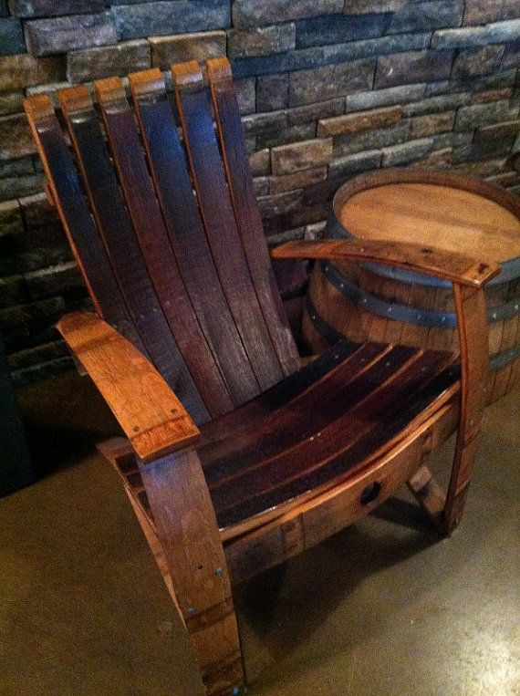 adirondack wine barrel chairs vintage formica kitchen table and chair plans free - woodworking projects &