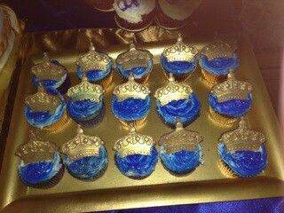 Royal Prince Cupcakes By Flora Events By Flora