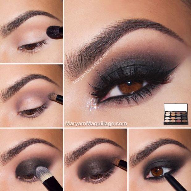 How To Do Dark Eye Makeup With Eyeliner Makeupgenk