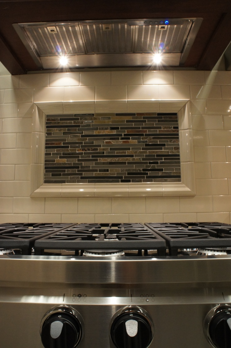 kitchen cabinets pittsburgh decor ideas on a budget custom tile backsplash with hood insert and dacor 36 ...
