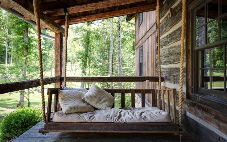 17 Best ideas about Rustic Porch Swings on Pinterest