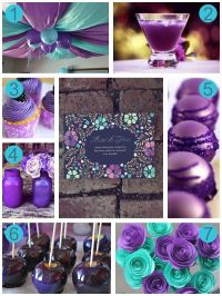 7 Stunning Ideas For A Purple Baby Shower | Stuff to Try ...