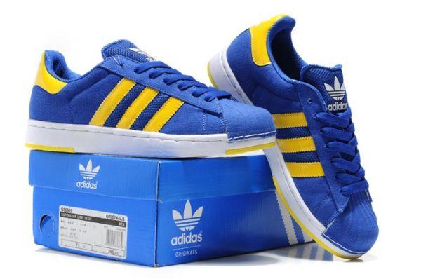 Adidas Superstar II Blue Yellow6jpg 750498