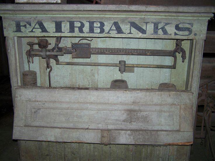 Vintage fairbanks morse scales  Vintage