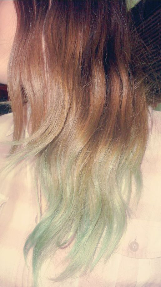 Pastel Teal Ombre Hair Hair Pinterest Pastel Teal
