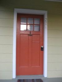 Sherwin Williams Jalapeno paint | orange red front door ...