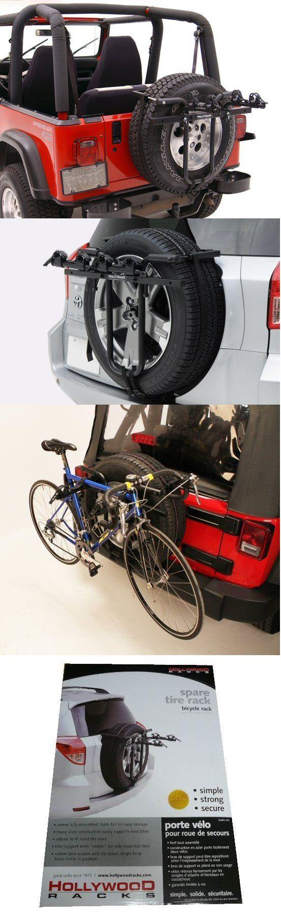 17 Best ideas about Spare Tire Bike Rack on Pinterest