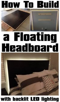 Best 25+ Floating headboard ideas on Pinterest