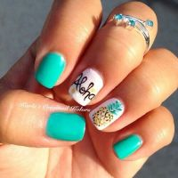 25+ Best Ideas about Hawaiian Nail Art on Pinterest