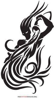 cool aquarius tattoo design