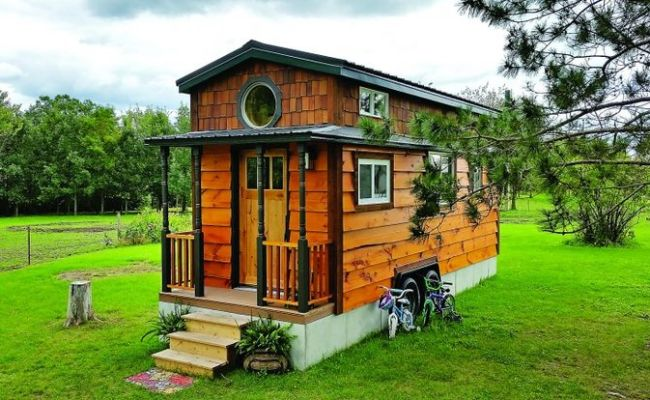Beautiful Tiny House For A Family Customized Tumbleweed