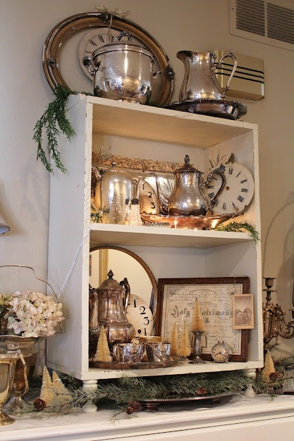 266 Best Images About Decorating With Old Silverplate On