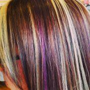 purple brown hair ideas