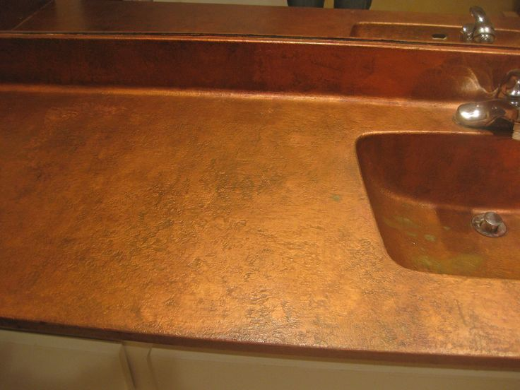 cheap kitchen countertop ideas pan hanger hammered spray paint countertops - google search great ...