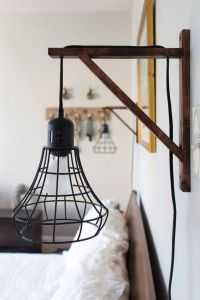 Best 25+ Plug in wall sconce ideas on Pinterest | Hard ...