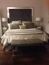 17 Best ideas about Tall Headboard on Pinterest | Quilted ...
