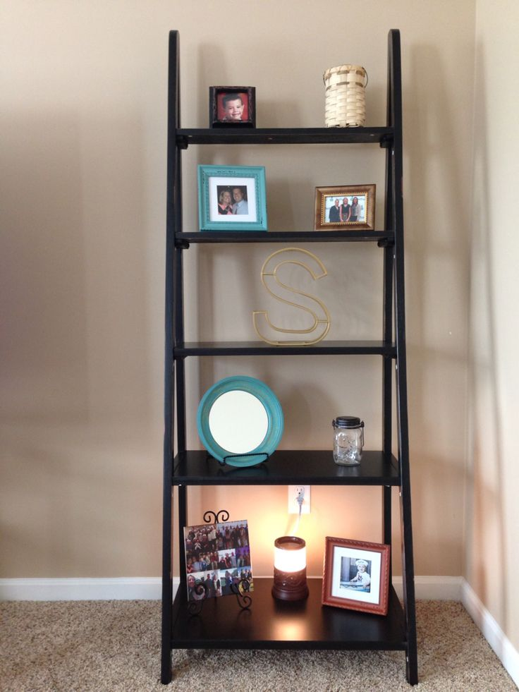 tall narrow kitchen cabinet wall clocks hobby lobby ladder shelf | my projects pinterest lobbies