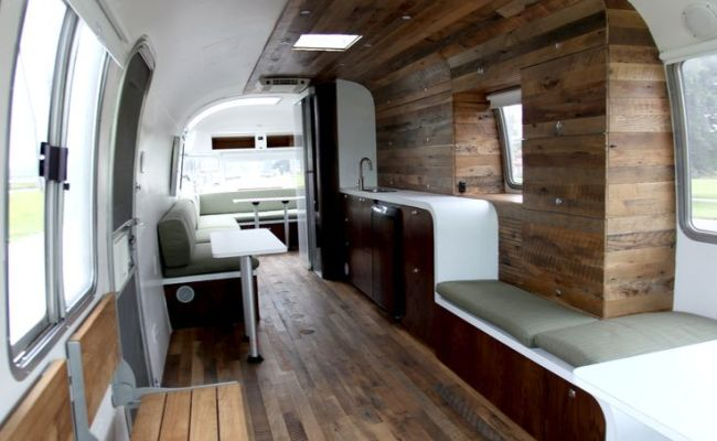 This Contemporary Yet Comfortable Mobile Office Is A