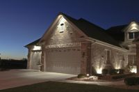 House Down Lighting | Outdoor Accents Lighting | Garage ...