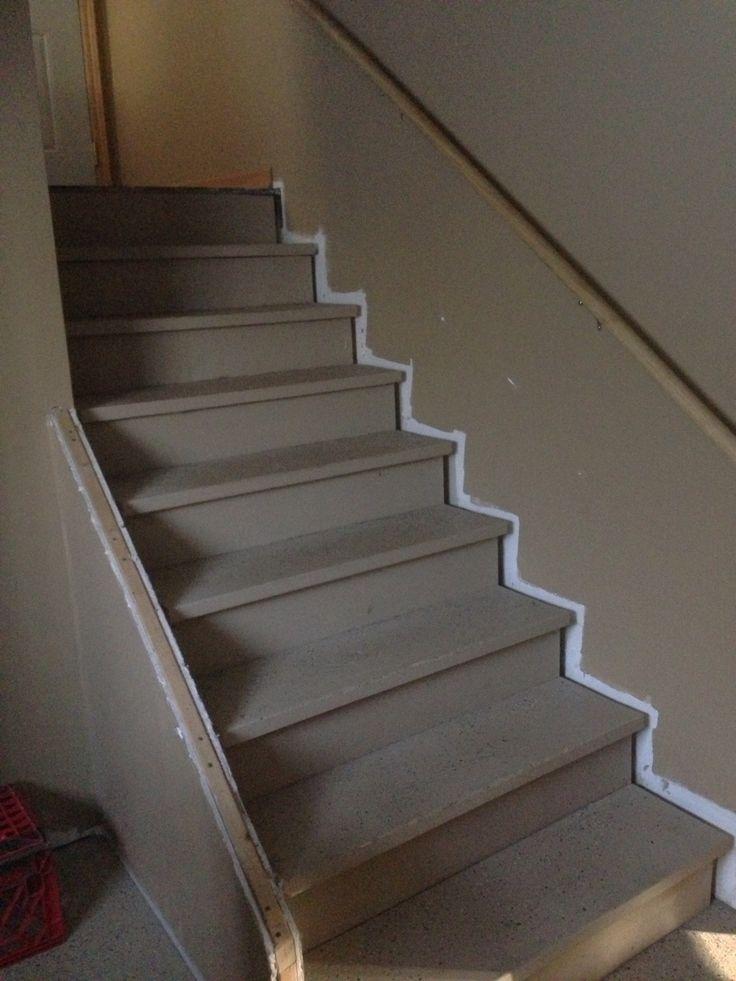 Finish basement stairs  Basement redo  Pinterest  Credit score Stairs and Railings