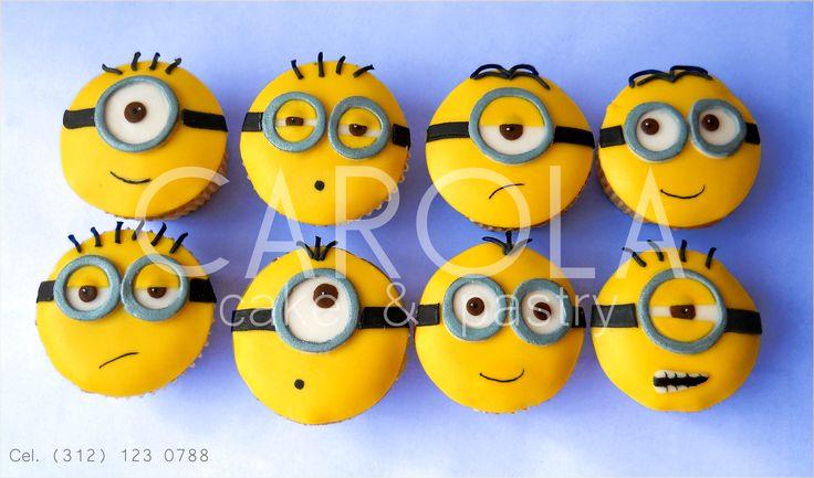 Minions Para Tu Incre 237 Bles Cupcakes Decorados Con