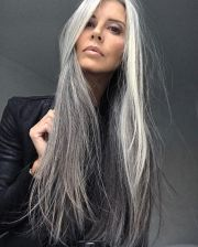 ideas grey hair