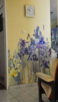 25+ Best Ideas about Painted Wall Murals on Pinterest