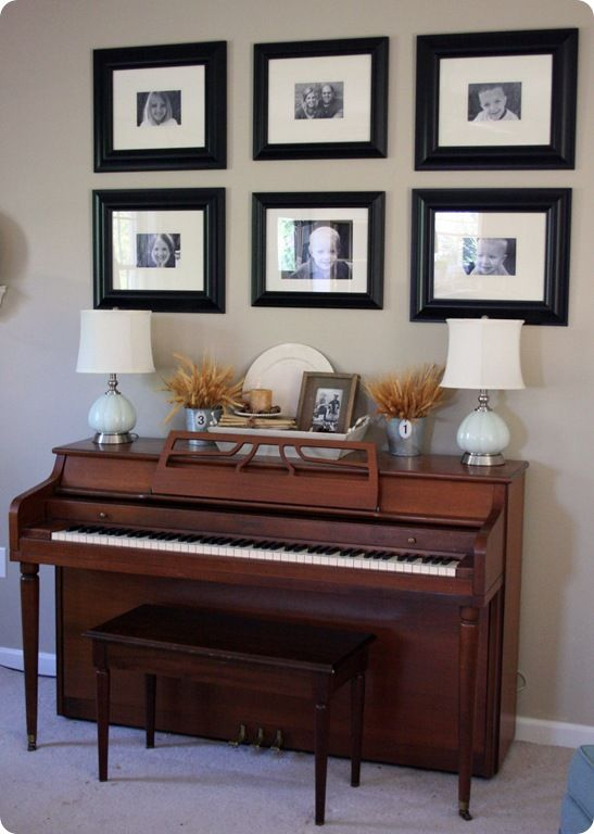 Living Room Ideas With Upright Piano