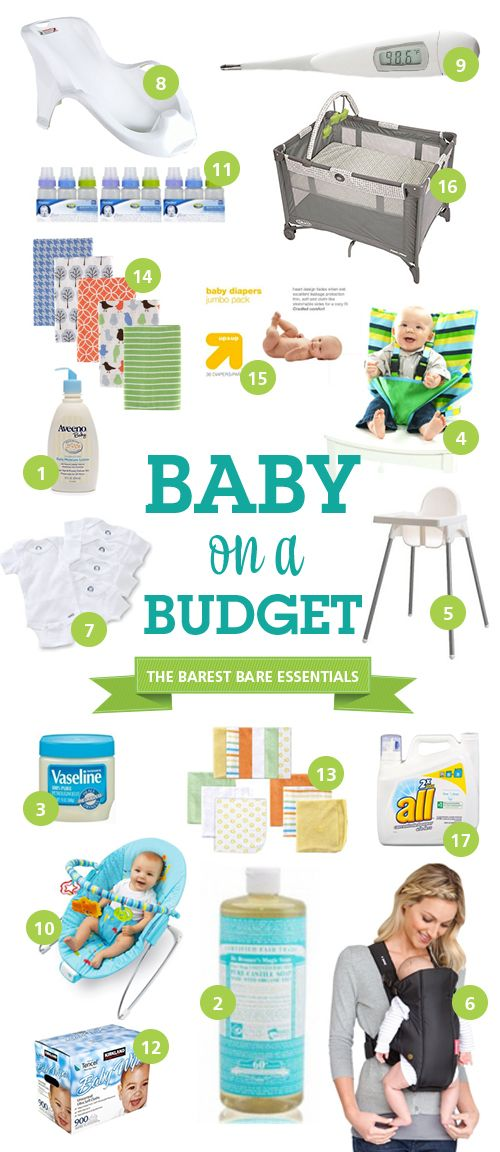 Baby on a Budget – The Barest Bare Essentials (plus the author is hysterical and