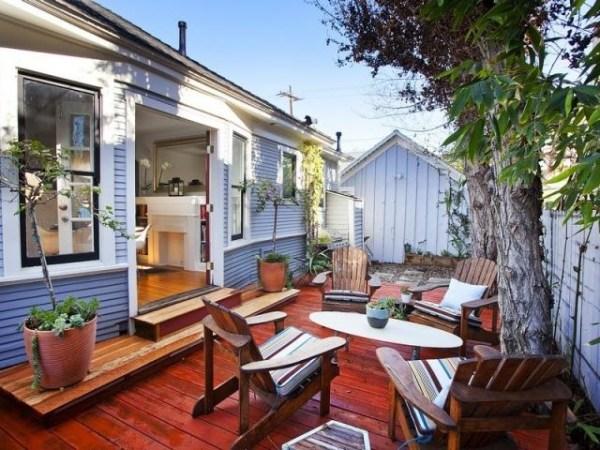 bungalow backyards