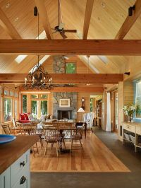 17 Best images about Timber Frame Home Interiors on ...
