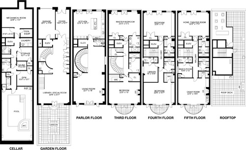 102 best images about Townhouse Floor Plans on Pinterest