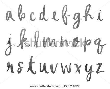 21 best images about Hand lettering alphabet on Pinterest