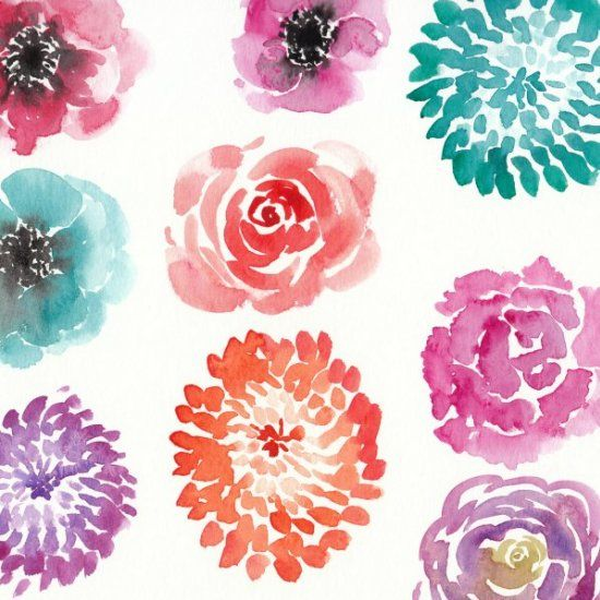 25+ Best Ideas About Watercolor Flowers Tutorial On